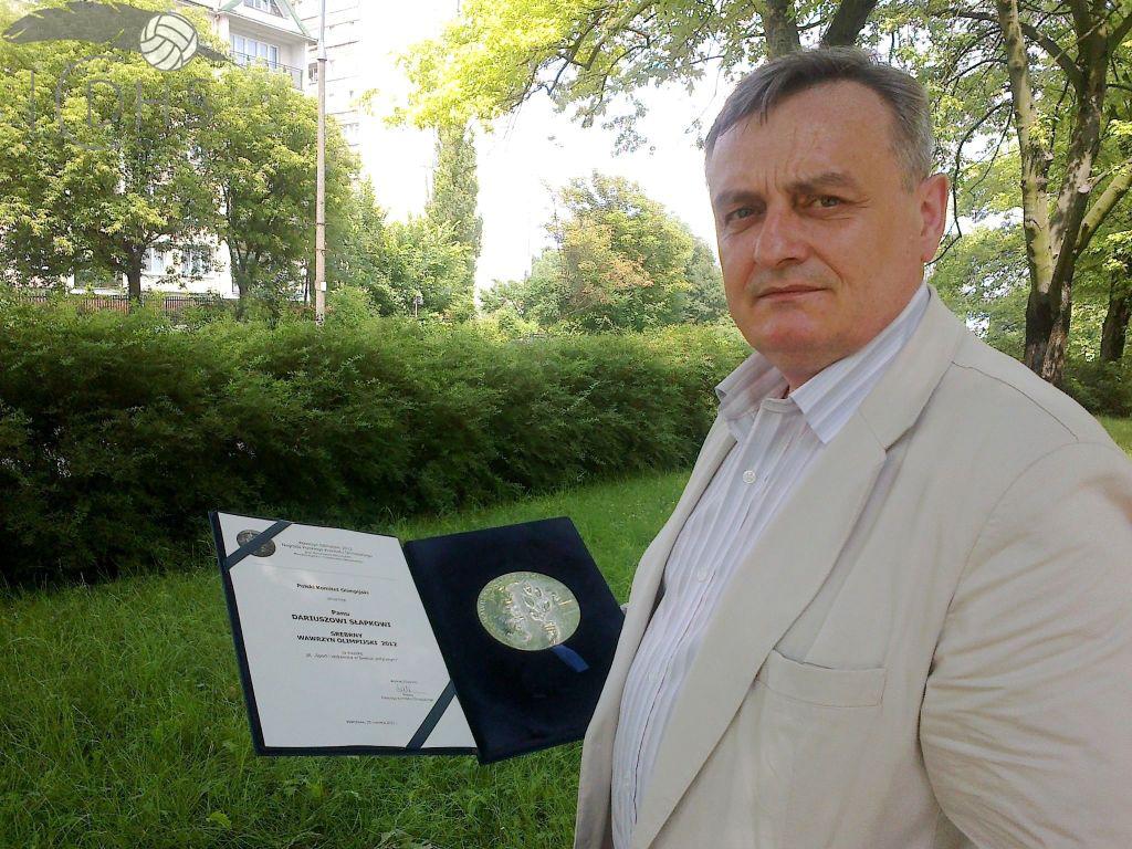 Wawrzyn Olimpijski dla Dariusza Słapka