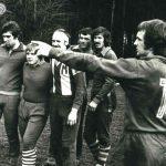 Trening na obozie w Ostrowiecznie - zima 1978