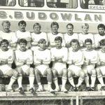 Przed wyjazdem na mecz z Juvenią Kraków 15.09.1984