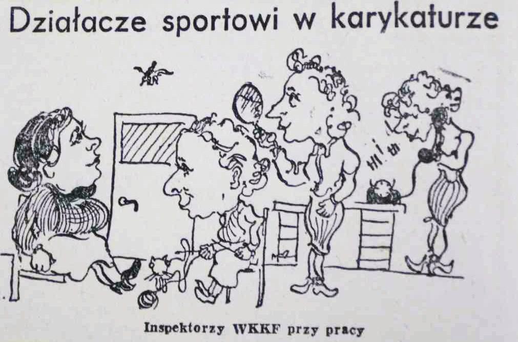 """Sport w """"Sztandarze Ludu"""" w roku 1955"""