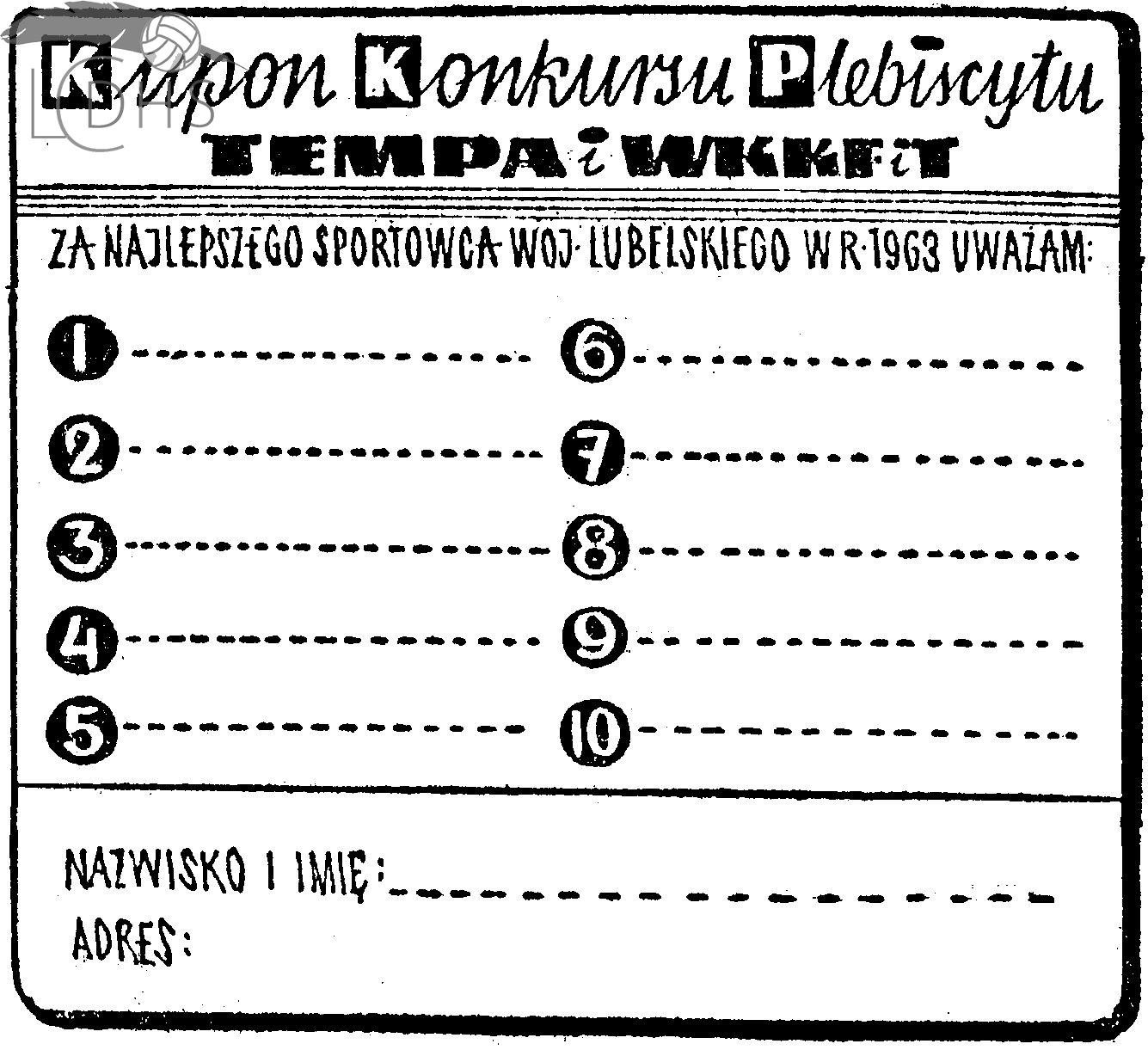 Plebiscyt Kuriera Lubelskiego