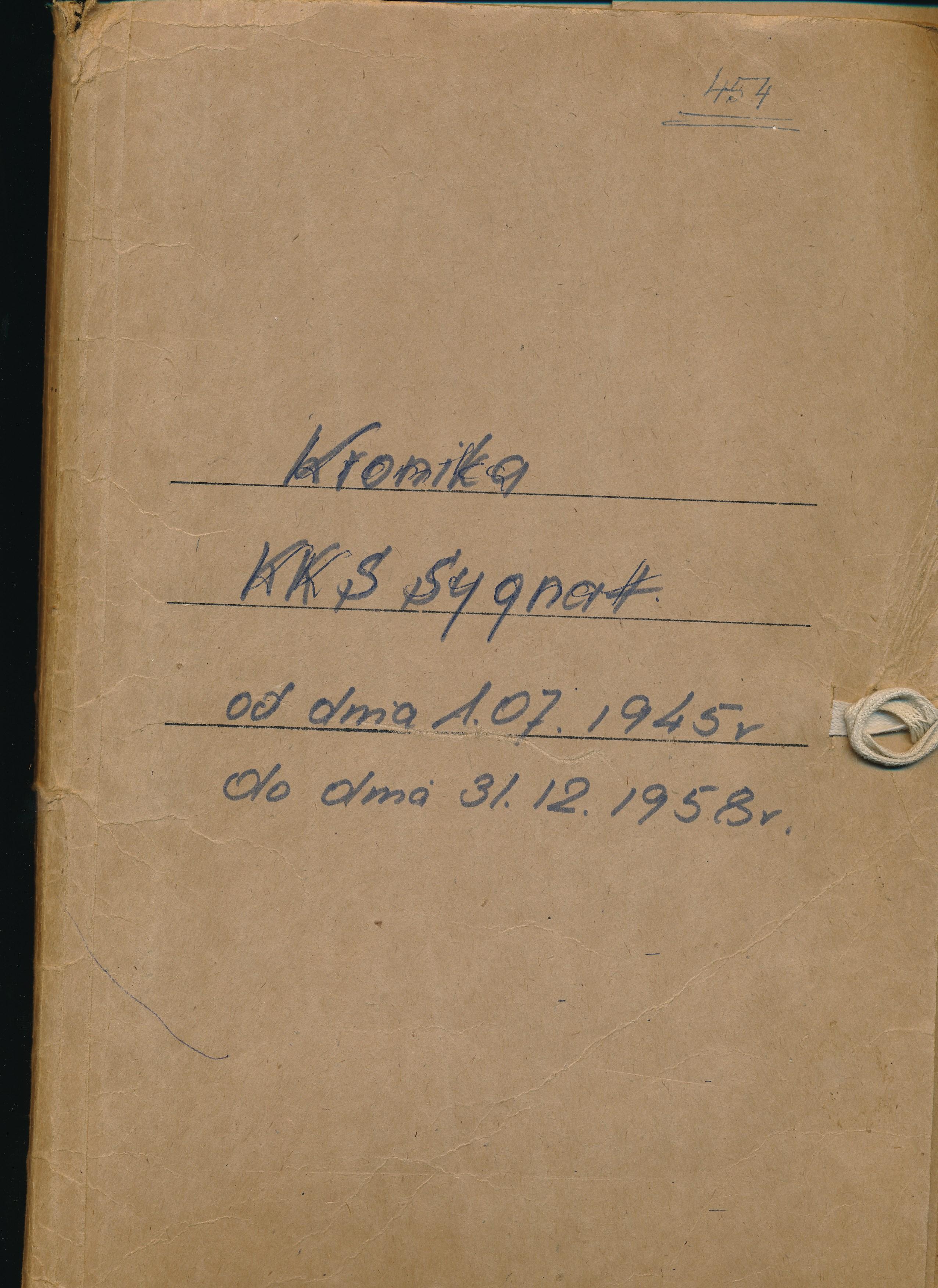"Kronika KKS ""Sygnał"" Lublin"