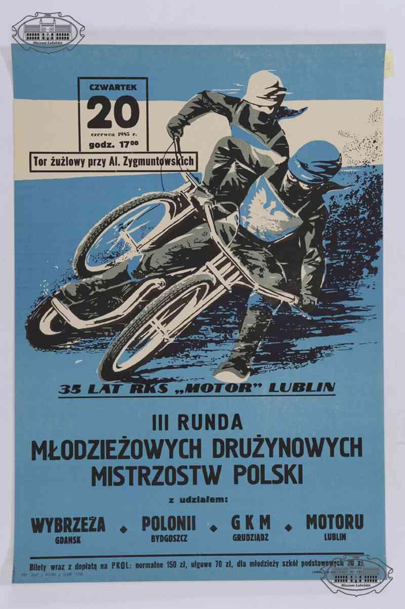 Zbiory dawnego Muzeum Sportu – afisze sportowe z lat 1953-1987