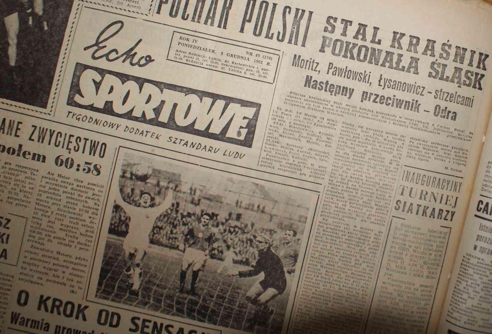 Nowa publikacja o historii lubelskiego sportu