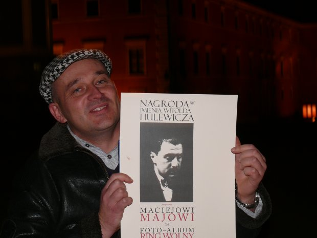 Maciej Maj laureatem Nagrody im. Witolda Hulewicza