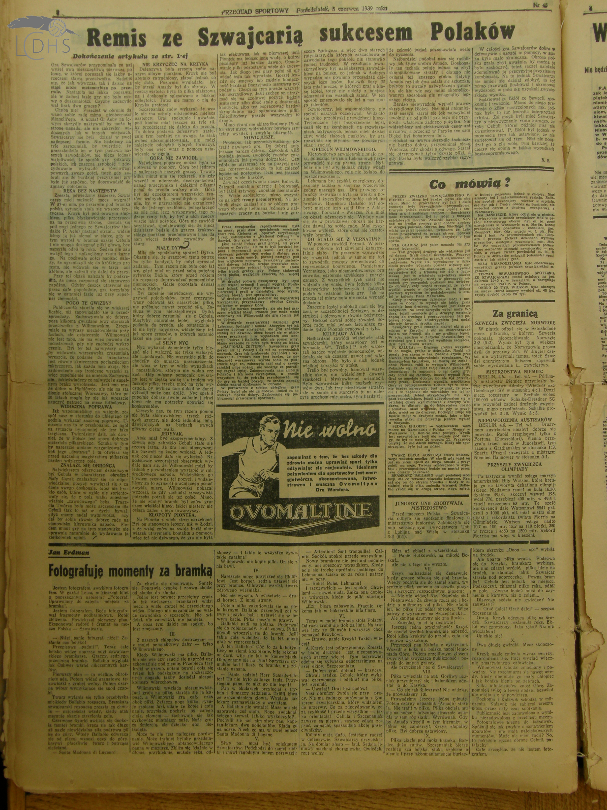 O mistrzowskim tytule Unii Lublin (1938/9) nieco inaczej…