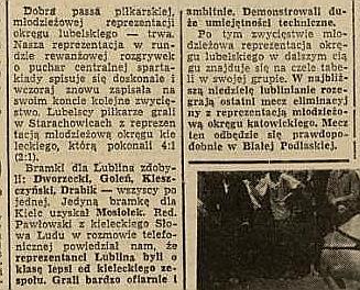 Relacja w Kurierze Lubelskim.