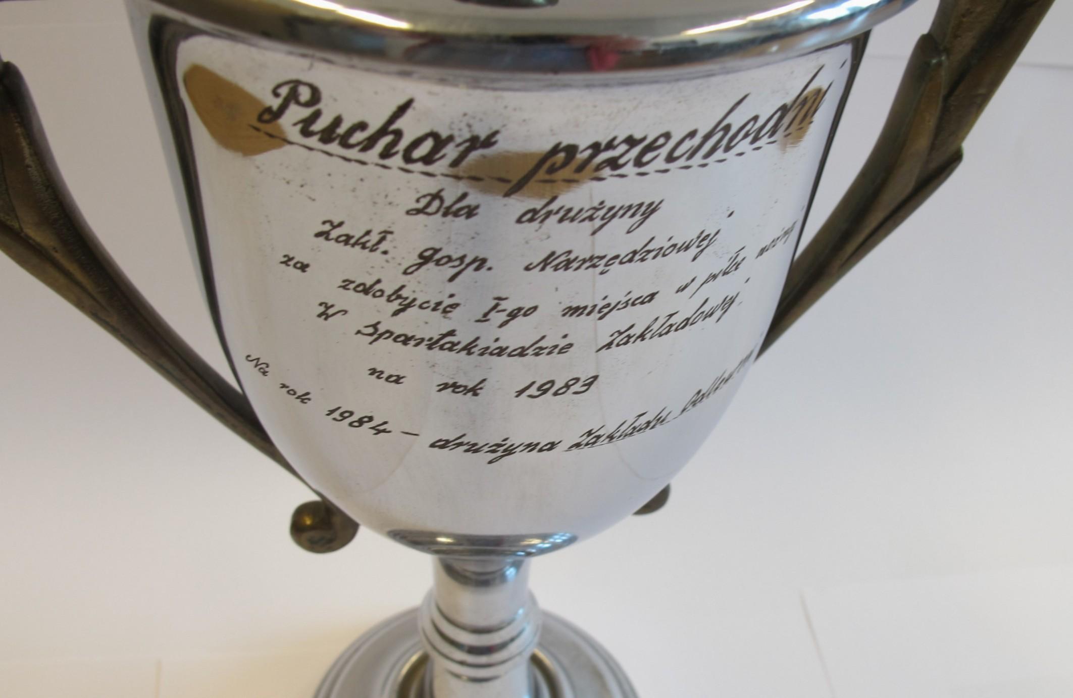 Pamiątki Motoru Lublin – puchary