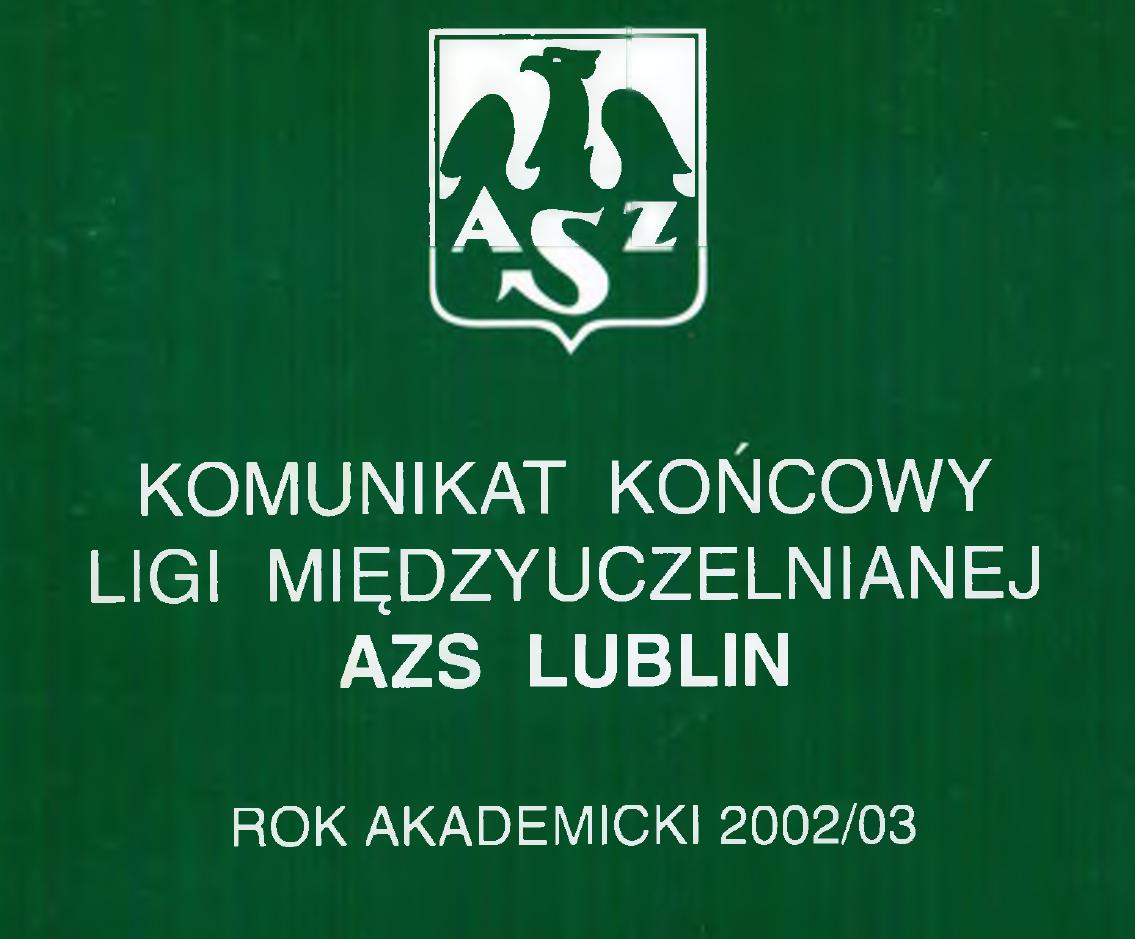 Komunikat 2002-2003