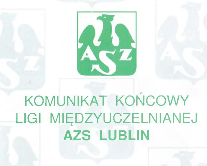 Komunikat 2004/2005